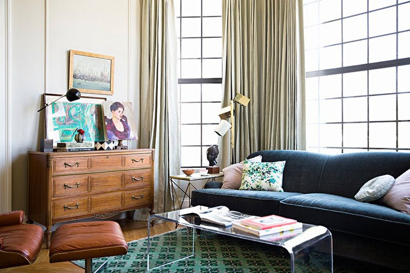 How To Mix Antique And Modern Furniture